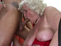 Granny woman and small cock