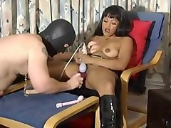 Fetish, Mistress spitting and foot domination