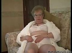 Granny, Dress, Cumshot, My friends hot mom naughty america in shower